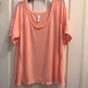 Xhilaration blouse size XL color peach
